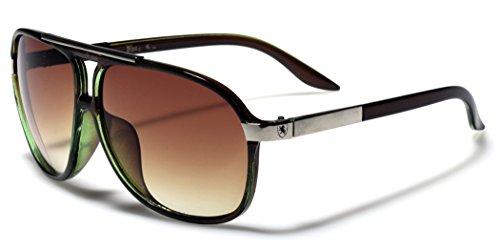 Men's Women's Retro Vintage 80s Classic Fashion Designer Aviator Sunglasses - Retro Ski Sunglasses