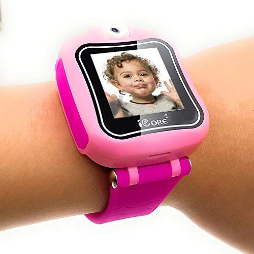 iCore Kids Watch, Durable Smart Watch for Kids, Game Pink Camera Smartwatch, Digital Touch Screen Kid Watches with Alarm Clock Stopwatch, Toys Video Games Girls Boys by iCore (Image #1)