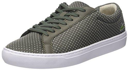 Lacoste L.12.12 Lightweight 118 1 Cam, Sneaker Uomo Verde (Khk/Nat)