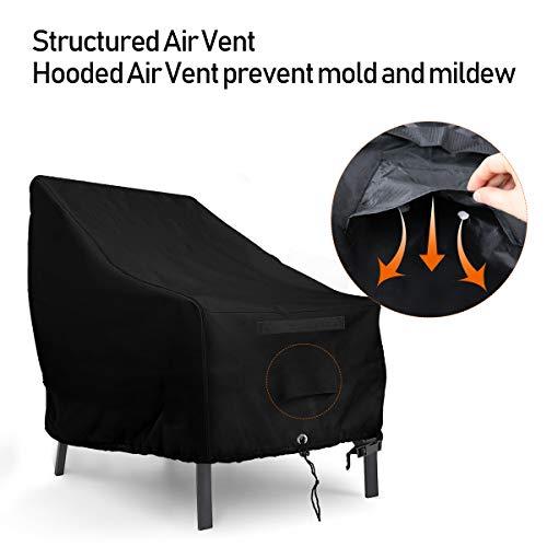 Amazon.com: Funda impermeable para silla de patio Adirondack ...