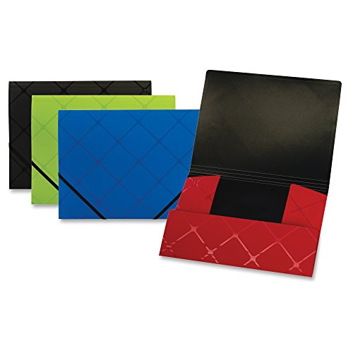 Globe-Weis Letter Poly Tri-Fold Folder, Assorted (GLW39621)