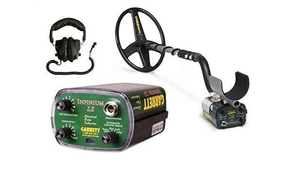 Detector de metales Garrett Infinium LS Metall Detektor Détecteur de métaux: Amazon.es: Jardín