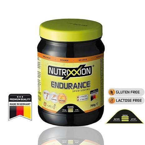 Nutrixxion ENERGÍA ENDURANCE Drink con BCAA, VITAMINAS y MINERALES Set 700g Dose, FlavorName Orange