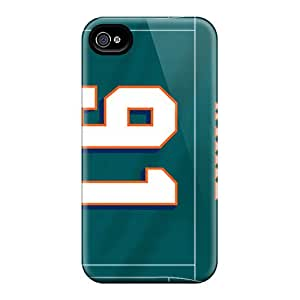 Durable Hard Phone Covers For Iphone 6 With Custom HD Miami Dolphins Image AnnaDubois