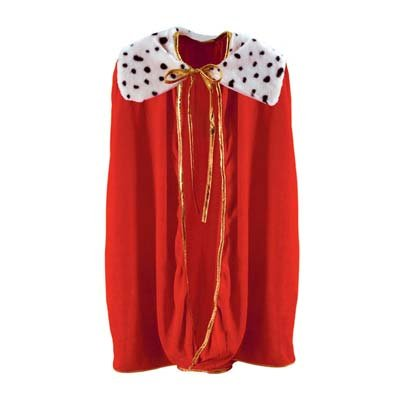 Beistle S60254AZ2 Child sized robe, Red/Black/White by Beistle (Image #1)