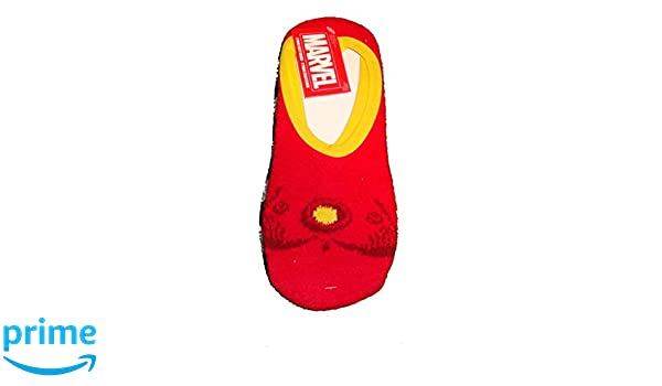 Amazon.com: Marvel Iron Man Womens 2 Pair Cozy Slipper Socks (Size 9-11): Clothing
