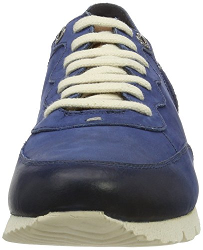 Kickers Rovigel, Zapatos De Cordones Derby para Hombre Azul Marino