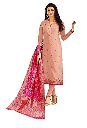 be226a24d3 Mahantam Designer Women's Captivating Light Pink Embroidered Worked ...