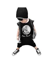 FEITONG Newborn Infant Kids Boy Girl Romper Jumpsuit Bodysuit Outfit Clothes