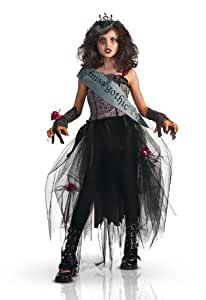 Disfraz Miss Gothic para niña - De 8 a 10 años