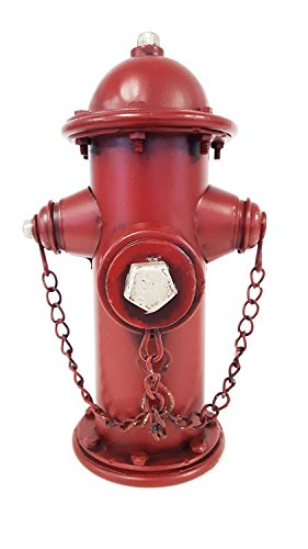 Metal Fire Hydrant Bank - Fire Piggy Hydrant Bank