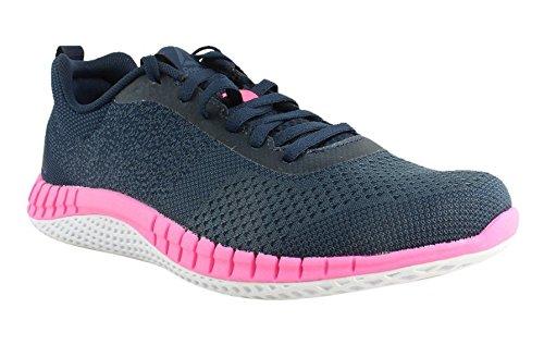 Reebok Women's RBK Print Run Prime Ultk Sneaker, Avon-Coll Navy/Small Indigo, 9.5 M US by Reebok (Image #4)