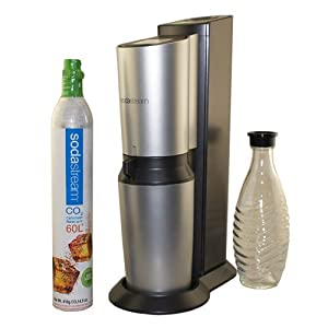 Crystal Home Sparkling Water Maker Starter Kit : overall good but has become difficult to open and close