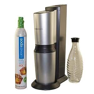 Crystal Home Sparkling Water Maker Starter Kit