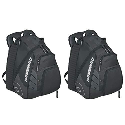 DeMarini Voodoo Rebirth Baseball Backpack (Black) - 2 Pack