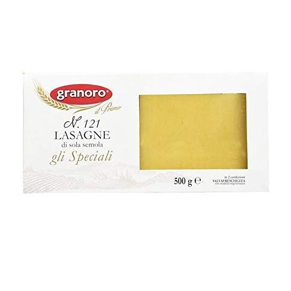 Granoro Lasagne Sheet Pasta 500 G, Product of Italy