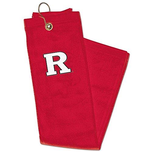 NCAA Rutgers Embroidered Golf Towel, 15