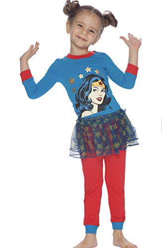 Wonder Woman DC Comics Retro Tutu Pajama Set -
