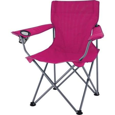Gentil Ozark Trail Pink Deluxe Folding Camping Arm Chair