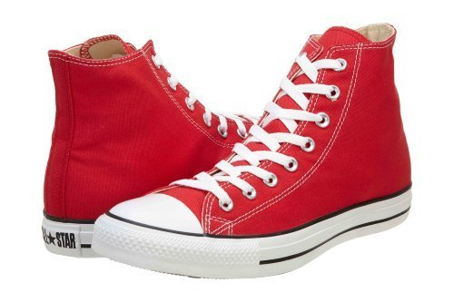 Converse Chuck Taylor Hi Top Red Shoes M9621 Mens 7