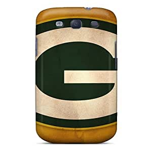 Casesbest88 Samsung Galaxy S3 Scratch Protection Mobile Covers Support Personal Customs Beautiful Green Bay Packers Image [kCl53lRXJ]