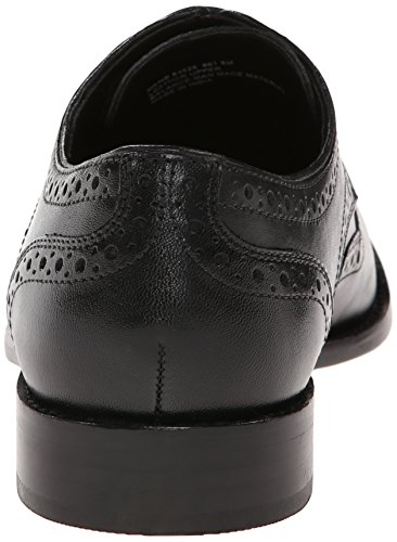 Nunn Bush Heren Nelson Vleugeltip Oxford Black