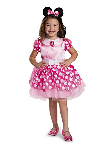 Disguise Pink Minnie Classic Tutu Costume, Small (2T) -
