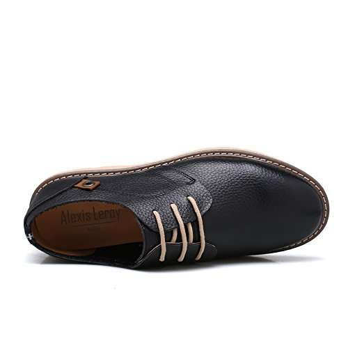 hot sale Alexis Leroy Men's Lace up Casual Oxfords Fastener