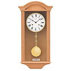 AMS Regulator wall clock, 14 day running time from R614/5