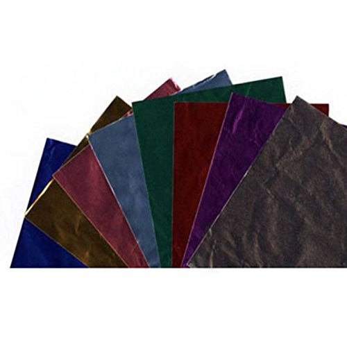 CK Products Foil Wrappers, 6'' x 6'', Multicolor by CK Products