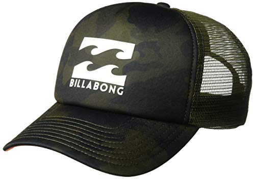 Billabong Camo - Billabong Men's Podium Trucker Hat Military Camo One Size
