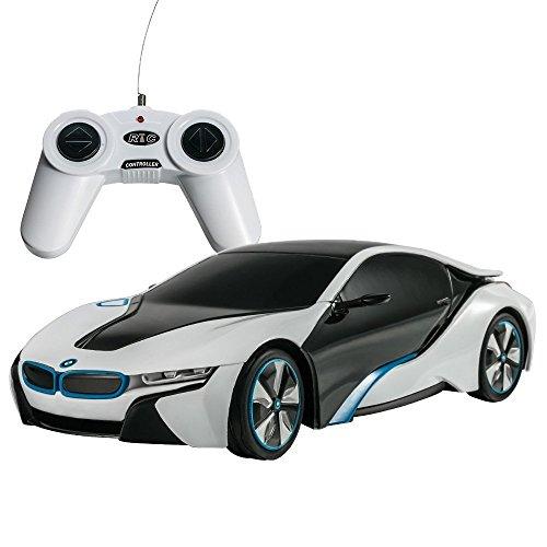 PowerTRC 1:24 BMW i8 Concept RC Sports Car White