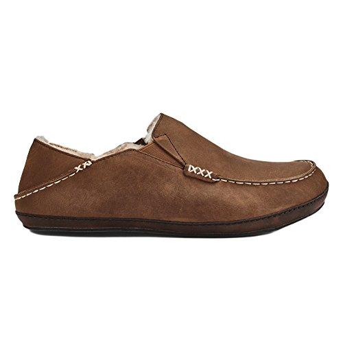 OluKai Moloa - Zapatillas para hombre Toffee/Dark Wood