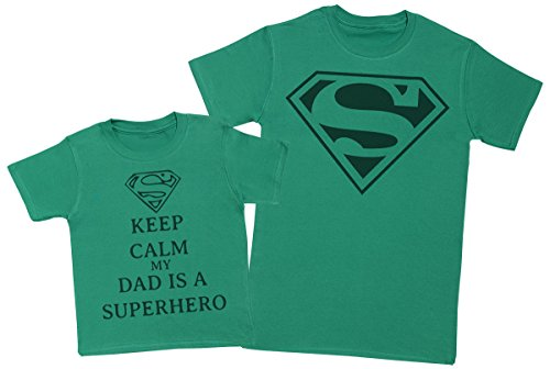 Hero Hijos Verde My Calm A Hombre E Para Y De Regalo Niño Super Keep Padres Ii Dads Camiseta 5xXPndxwqT
