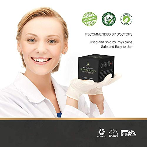 Teeth Whitening Charcoal Powder Natural  Activated Charcoal Teeth Whitening Kit  Teeth Whitener