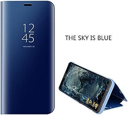 COVO® Funda para Samsung Galaxy J7 2018 Espejo Flip Case Espejo ...