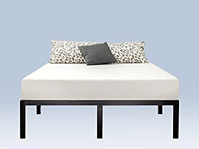 Zinus 16 Inch Metal Platform Bed Frame with Steel Slat Support/Mattress Foundation from Zinus