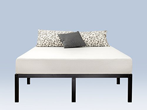 Zinus 14 Inch Classic Metal Platform Bed Frame with Steel Slat Support, Mattress Foundation, Queen