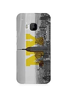 New York HTC One M9 3D wrap around Case - Cities