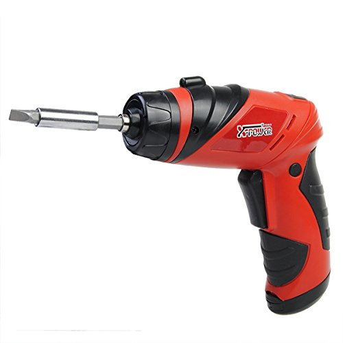 6V Screwdriver Battery Operated Cordless Wireless Mini Electric Screw Driver Tool
