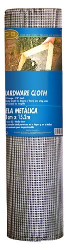 Mat Midwest Air Tech 308245A 24-Inch-by-100-Foot 1/4-Inch Mesh 23-Gauge Hardware Cloth