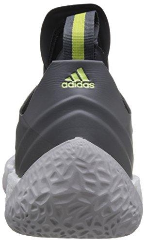 Adidas Mænd Harden Vol. Adidas Mænds Hærde Vol. 2, Hvid/Grå/Sort Hvid/Grå/Sort 2, Hvid / Grå / Sort Hvid / Grå / Sort