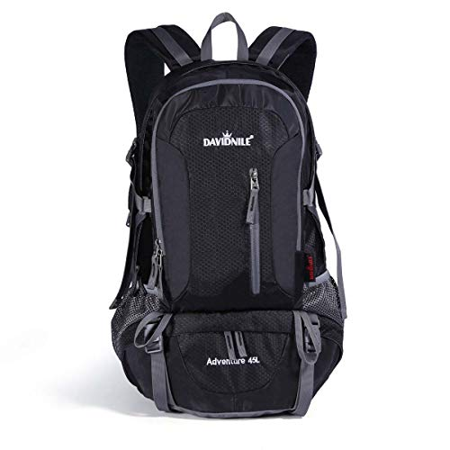 DAVIDNILE Hiking Backpack Waterproof Outdoor Daypack Internal Frame Backpacks for Men and Women Lightweight Backpacks for Travel Camping Climbing