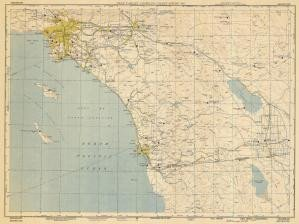 Historical Nautical Chart 0404-0004-500-4-1950: CA,USAF Target Complex Chart-Series 500 Year (Usaf Series)