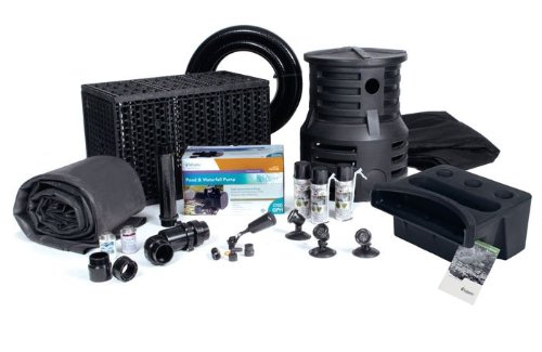 Professional Pond Kit (Atlantic Water Gardens Pond-Free Professional Waterfall Kit - 4800 GPH Pump)
