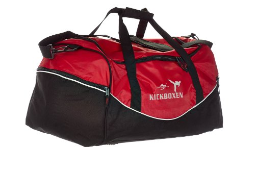 Tasche Team rot/schwarz Kickboxen