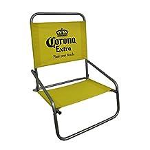 Corona Extra Steel Frame Canvas Folding Beach/Sand Chair