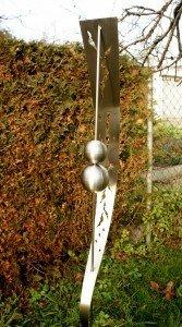 Gartendeko edelstahl gartenstecker  Edelstahl Gartenstecker Gartendeko Edelstahlkugeln: Amazon.de: Garten