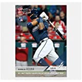 RONALD ACUNA Topps Now Atlanta Braves Rookie Card