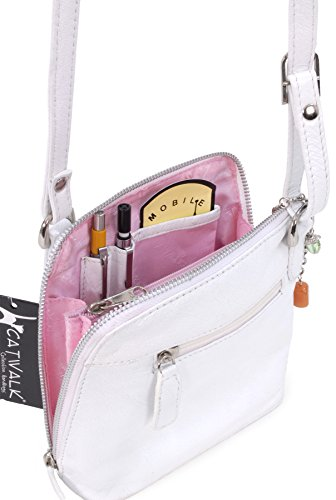 Collection Catwalk Body Collection Cross Bag White Catwalk Leather Lena qTxOTwg1n